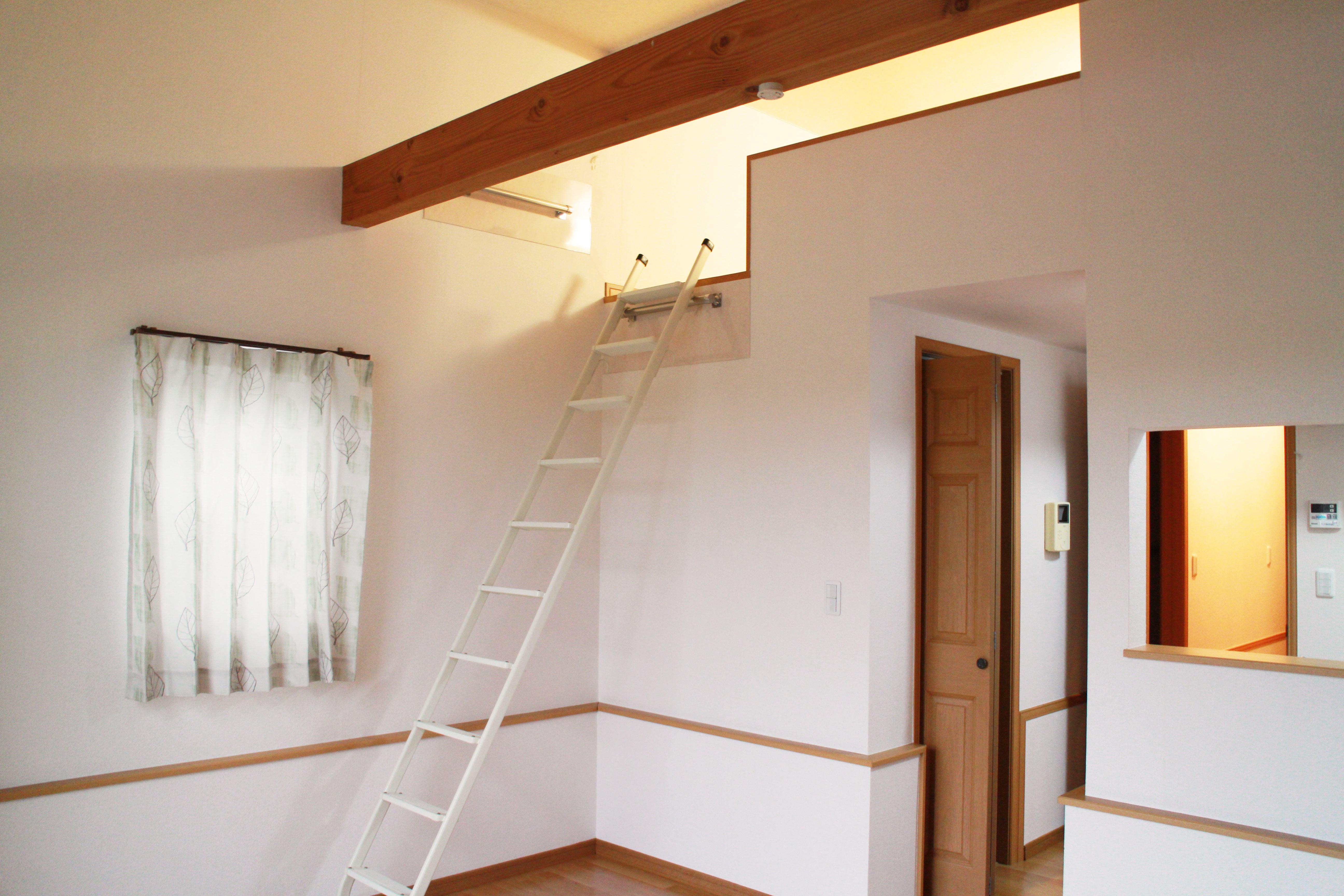 ロフト付きの寮の画像