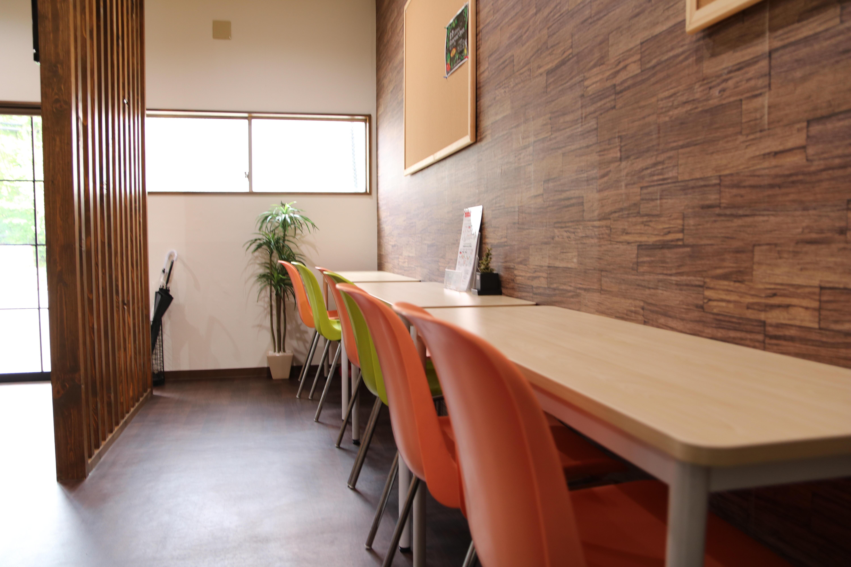 株式会社ニッコーの食堂カウンター